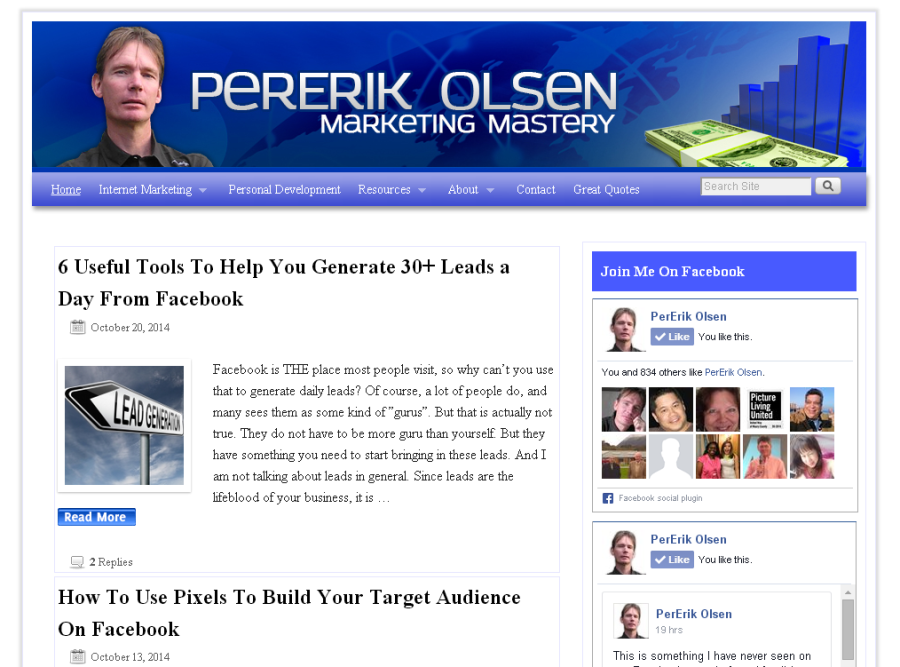 How To Create A Facebook Likebox For Your Website