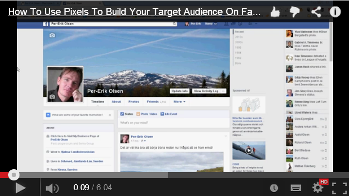 How To Use Pixels To Build Your Target Audience On Facebook