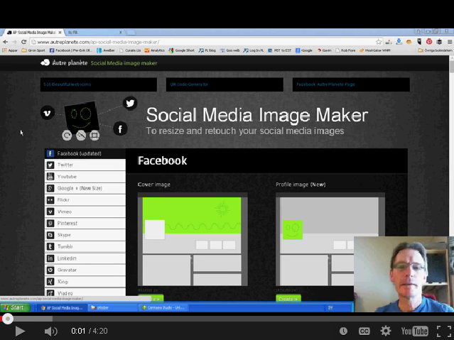 How To Use The Social Media Image Maker Tool