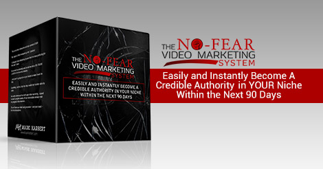 No Fear Video Marketing System Review